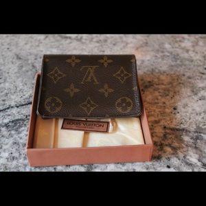 Louis Vuitton Card Fold Wallet
